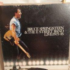 Discos de vinil: BRUCE SPRINGSTEEN Y THE E STREET BAND. LIVE 1975-1985. 5 LPS MAS LIBRETO.. Lote 203187952