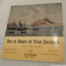 Discos de vinilo: CORO DE CÁMARA DEL ORFEÓN DONOSTIARRA - AMA BEGIRA ZAZU + 3. Lote 203189658