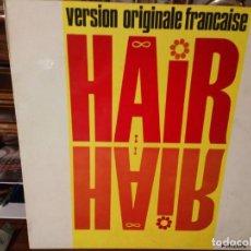 Discos de vinilo: VINILO MUSICAL HAIR PARÍS AÑOS 70. Lote 203196205