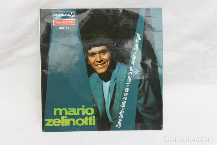 MARIO ZELINOTTI, SINGLE, CUORE MATTO,/ COSI TE NE VAI. VERGARA, 1967 (Música - Discos - Singles Vinilo - Canción Francesa e Italiana)