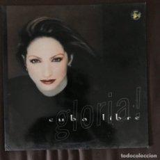 Discos de vinilo: GLORIA ESTEFAN - CUBA LIBRE - 12'' MAXISINGLE EPIC SPAIN 1998. Lote 203213968