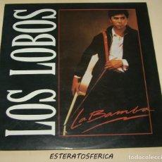 Discos de vinilo: LOS LOBOS - LA BAMBA + 2 - POLYGRAM 1987. Lote 203217060