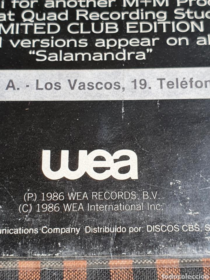 Discos de vinilo: Miguel Bosé ?– You Live In Me, USA Remix, WEA ?– 248549-0, 1986. distribuido en españa, WEA Records. - Foto 4 - 203223645