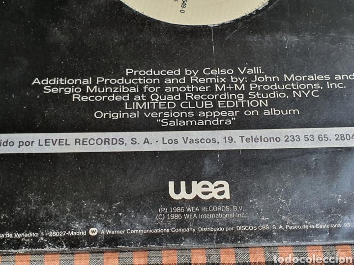 Discos de vinilo: Miguel Bosé ?– You Live In Me, USA Remix, WEA ?– 248549-0, 1986. distribuido en españa, WEA Records. - Foto 5 - 203223645