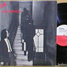 Discos de vinilo: SISA & MELODRAMA SPAIN LP 1979 JAUME SISA PSYCH ROCK EN CATALA 1ª EDICIÓN EDIGSA RARO BUEN ESTADO !. Lote 203225090