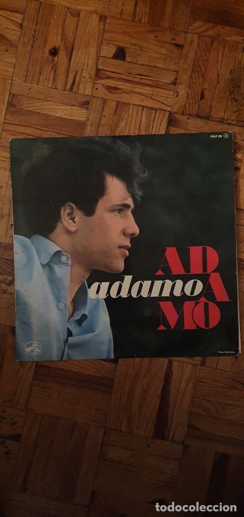 ADAMO – ADAMO SELLO: LA VOIX DE SON MAÎTRE – FELP 259 FORMATO: VINYL, LP, ALBUM, MONO PAÍS: FRANCE (Música - Discos - LP Vinilo - Canción Francesa e Italiana)