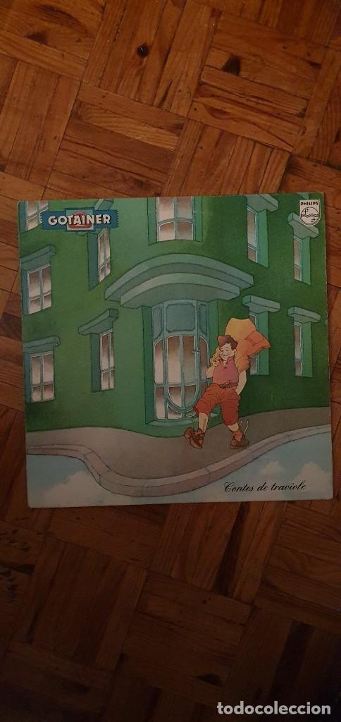 GOTAINER* – CONTES DE TRAVIOLE SELLO: PHILIPS – 9101 207 FORMATO: VINYL, LP, ALBUM PAÍS: FRANCE (Música - Discos - LP Vinilo - Canción Francesa e Italiana)