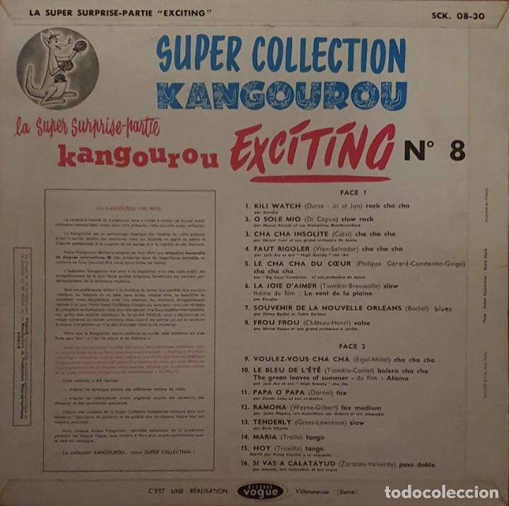 Discos de vinilo: La Super Surprise-Partie Kangourou Exciting Sello: Disques Vogue ‎– SCK. 08-30 - Foto 3 - 203234490