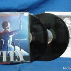 Discos de vinilo: EVITA - VERSIÓN ORIGINAL EN ESPAÑOL - CBS 1980 - 2 LP´S. Lote 203235825