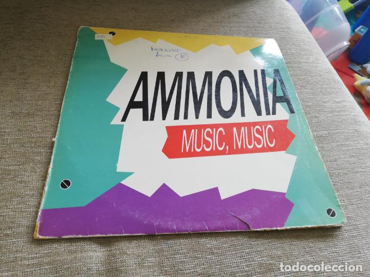 AMMONIA-MUSIC, MÚSIC. MAXI (Música - Discos de Vinilo - Maxi Singles - Techno, Trance y House)