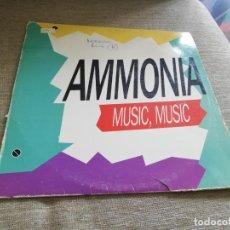 Discos de vinilo: AMMONIA-MUSIC, MÚSIC. MAXI. Lote 203245491