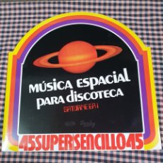 Discos de vinilo: MÚSICA EPACIAL PARA DISCOTECA TRIBUTE TO ELVIS, ROCK ODYSSEY, MOVIEPLAY,1978, ESPAÑA. Lote 203247331