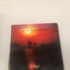 Discos de vinilo: ENTRE DOS AGUAS GUITARRAS FLAMENCAS. Lote 203249880