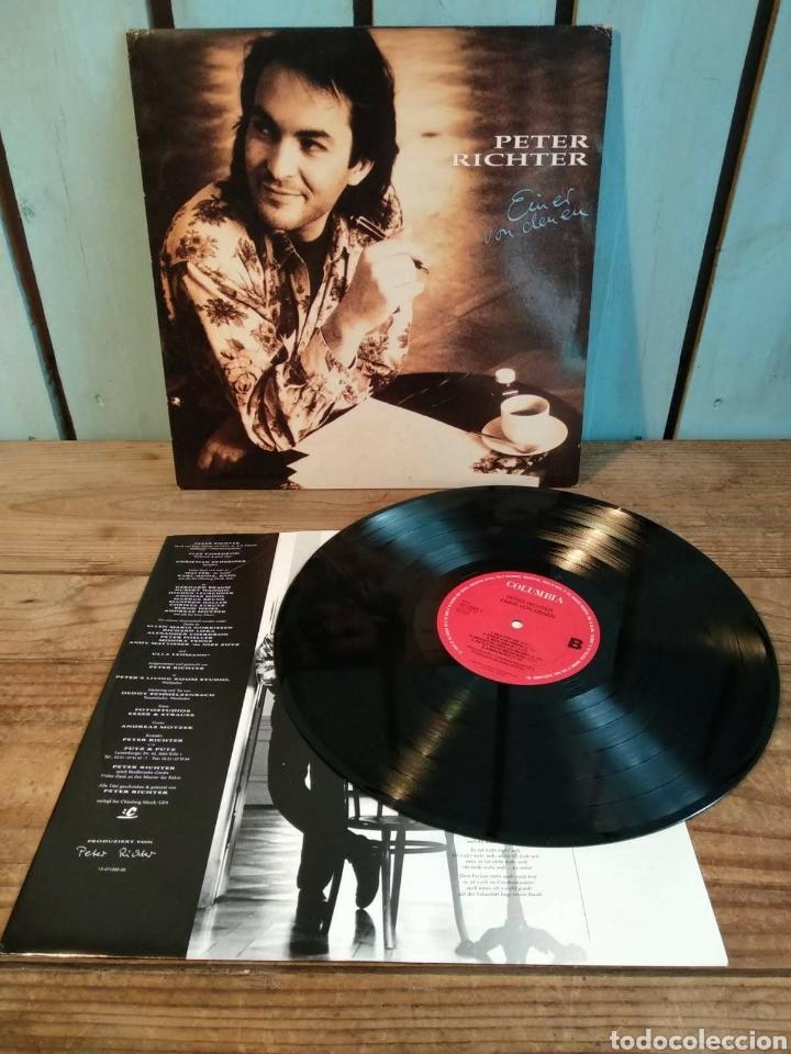 VINILO PETER RICHTER (Música - Discos - LP Vinilo - Pop - Rock - New Wave Extranjero de los 80)