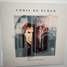 Discos de vinilo: CHRIS DE BURGH- POWER OF TEN - SPAIN LP 1992 + ENCARTE - VINILO COMO NUEVO.. Lote 203259676