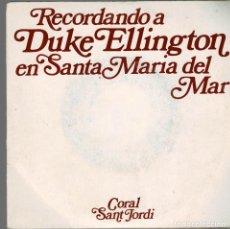 Discos de vinilo: RECORDANDO A DUKE ELLINGTON EN SANTA MARIA DEL MAR-GO DOWN MOSES, FREEDOM IS SWEET. Lote 203263715