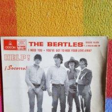 Disques de vinyle: THE BEATLES YESTERDAY + 3 EDICION SPAIN DOBLE REFERENCIA. OPORTUNIDAD COLECCIONISTAS. Lote 203267115