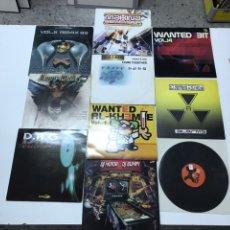 Disques de vinyle: LOTE DE 10 VINILOS DE ELECTRÓNICA, HARDTEK Y OTROS ESTILOS. Lote 203270486