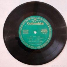 Discos de vinilo: ANA MARÍA GONZALEZ. ESPINITA.... COLUMBIA ECGE 70.077. ESPAÑA 1950S. SIN FUNDA. DISCO VG+.. Lote 203272238
