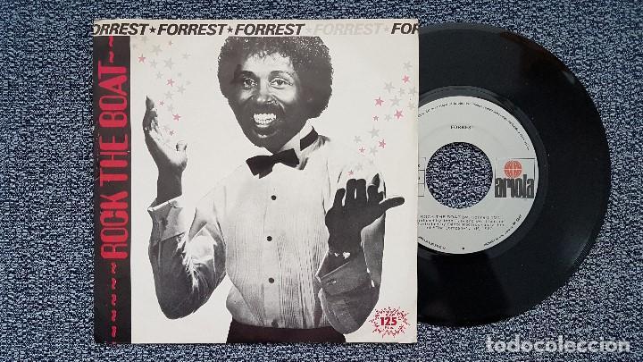 FORREST - ROCK THE BOAT / LOVING YOU. EDITADO POR ARIOLA. AÑO 1.982 (Música - Discos - Singles Vinilo - Funk, Soul y Black Music)