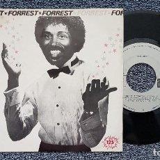 Discos de vinilo: FORREST - ROCK THE BOAT / LOVING YOU. EDITADO POR ARIOLA. AÑO 1.982. Lote 203280180