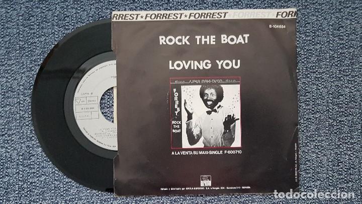Discos de vinilo: Forrest - Rock the boat / Loving you. Editado por Ariola. año 1.982 - Foto 2 - 203280180