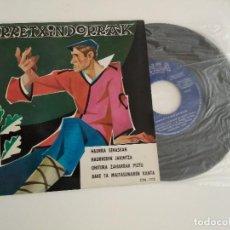 Discos de vinilo: URRETXINDORRAK / HAURRA SEASKAN / EP 45 RPM / CINSA COMO NUEVO. Lote 203282155