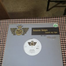 Disques de vinyle: HOUSE BOYS ?– TOUCH MY LIPS, MG RECORDS ?– MG 66016, ACID HOUSE, NEW BEAT, BELGIUM, 1989.. Lote 203286957