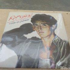 Discos de vinilo: RAMONCIN - COMO UN SUSURRO - A DIEZ PASOS FIRMADO EN CONTRAPORTADA - EMI - 1986 -. Lote 46369246