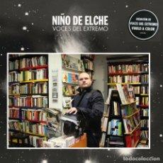 Discos de vinilo: NIÑO DE ELCHE * 2LP * VOCES DEL EXTREMO * LTD GATEFOLD VINILOS COLOR ROJO * PRECINTADO. Lote 203307518