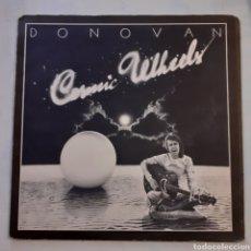 Discos de vinilo: DONOVAN. COSMIC WHEELS. GATEFOLD. EPIC EPC 65450. 1973 HOLANDA.. Lote 203316615