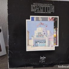 Discos de vinilo: LED ZEPPELIN: THE SONG REMAINS THE SAME + LIBRO,SWAN SONG ESPAÑA 1976. Lote 203330032