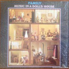 Discos de vinilo: FAMILY - MUSIC IN A DOLL'S HOUSE. Lote 203337267