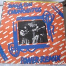Discos de vinilo: LOS CHUNGUITOS BAILA CON LOS CHUNGUITOS (POWER REMIX). Lote 203339196