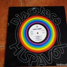 Discos de vinilo: DONNA SUMMER COLD LOVE MAXI SINGLE VINILO DEL AÑO 1980 PROMO ESPAÑA CONTIENE 4 TEMAS. Lote 203346260