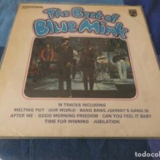 Discos de vinilo: LP UK 1976 CON VINILO PRACTIMAMENTE PERFECTO THE BEST OF BLUE MINK. Lote 203349912
