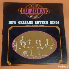 Discos de vinilo: NEW ORLEANS RHYTHM KINGS, ARCHIVE OF JAZZ VOLÚMEN 7 , LP, VER FOTOS. Lote 203356788