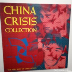 Discos de vinilo: CHINA CRISIS COLLECTION-THE VERY BEST OF CHINA CRISIS -SPAIN LP 1990 + ENCARTE -VINILO EXC. ESTADO. Lote 203358790