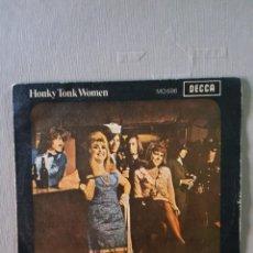 Discos de vinilo: THE ROLLING STONES: RARO PROMO SINGLE SPAIN 1969 DECCA- OPORTUNIDAD COLECCIONISTAS. Lote 203360333