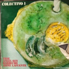 Discos de vinilo: COLECTIVO 1 - JAIME LAFUENTE - ÁNGEL REY - BARBECHO - THAU - FOLK CASTELLANO. Lote 203367690