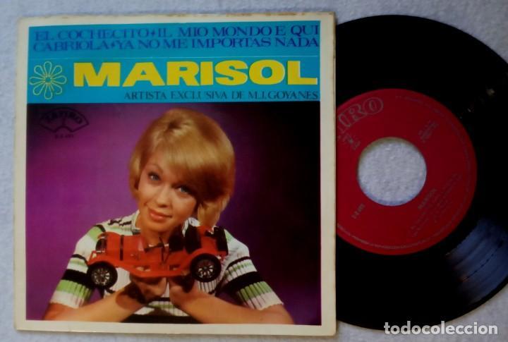 MARISOL - EL COCHECITO - EP 1965 - ZAFIRO (Música - Discos de Vinilo - EPs - Solistas Españoles de los 50 y 60)