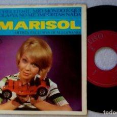 Discos de vinilo: MARISOL - EL COCHECITO - EP 1965 - ZAFIRO. Lote 203371435