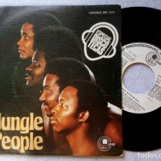 Discos de vinilo: SOULFUL DYNAMICS - JUNGLE PEOPLE / SUGAR BABY - SINGLE PROMO 1976 - CARNABY. Lote 203373365