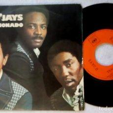 Discos de vinilo: OJAYS - BACK STABBERS / SUNSHINE - SINGLE 1972 - CBS. Lote 203378187