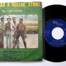 Discos de vinilo: THE TEMPTATIONS - PAPA WAS A ROLLIN' STONE - SINGLE TAMLA MOTOWN 1972 BPY. Lote 203379433