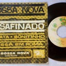 Discos de vinilo: SIVUCA CON OS BOSSA NOVA - DESAFINADO - EP ESPAÑOL 1962 - BARCLAY. Lote 203385905