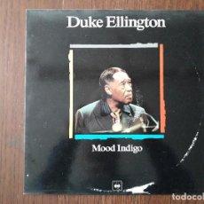 Discos de vinilo: DISCO VINILO LP, MAESTROS DEL JAZZ, DUKE ELLINGTON, MOOD INDIGO. CBS LSP 980626-1, AÑO 1988. Lote 203387291