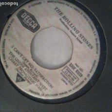 Disques de vinyle: THE ROLLING STONES SATISFACTION + 3 ( 1965 DECCA ESPAÑA ) FUNDA GENERICA OFF THE HOOK LITTLE RED ROO. Lote 203387518