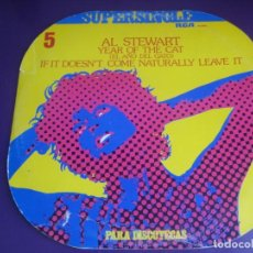 Discos de vinilo: AL STEWART MAXI SINGLE RCA 1977 YEAR OF THE CAT / IF IT DOESN'T COME NATURALLY, LEAVE IT - POP 70'S. Lote 203392473