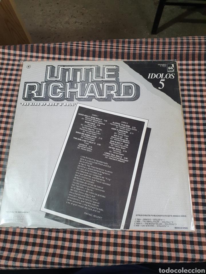 Discos de vinilo: Little Richard – The King Of RockNRoll, Buddah Records – C 7834, Idolos – 5, 1978, españa. - Foto 2 - 203410895